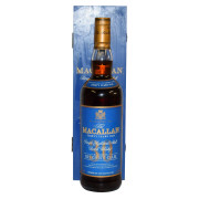 Macallan 30 Sherry Blue Box Front