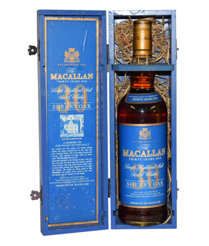 Macallan 30 Sherry Oak (Blue Box)