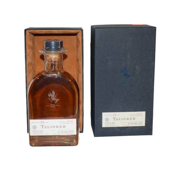 Talisker 1973 Box Bottle 28 YO