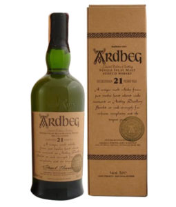 Ardbeg 21 Year Old, Official Bottle