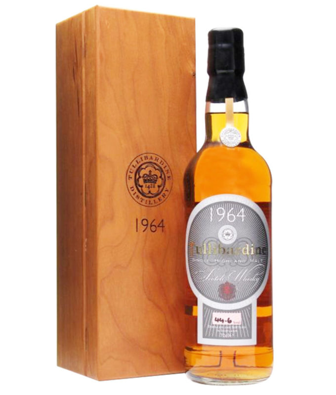 Tullibardine 1964, Official Bottle