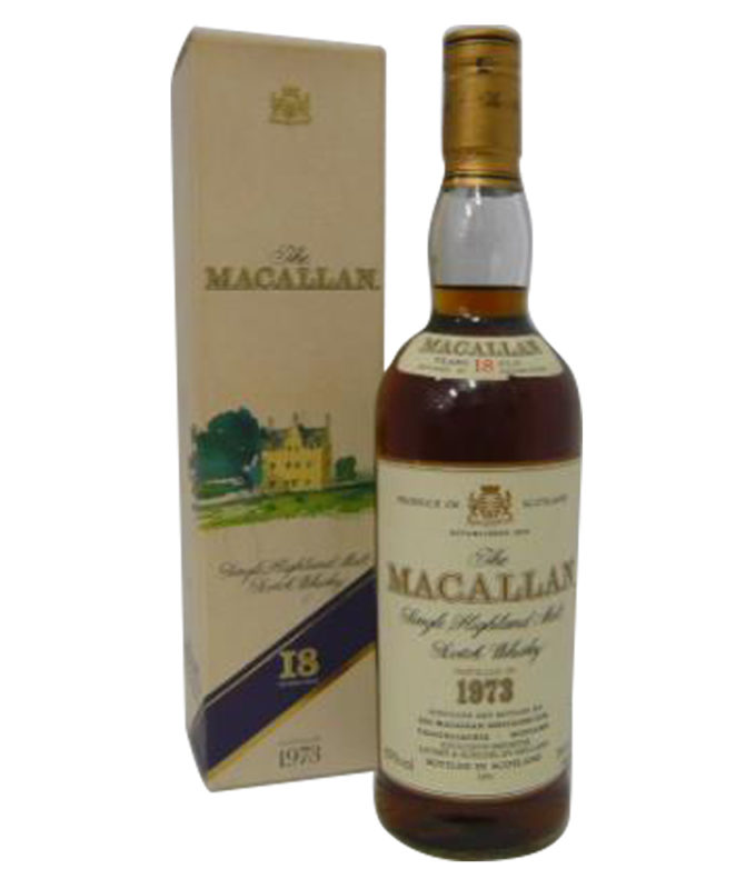 The Macallan 18 Year Old Distilled in 1973